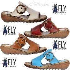 Sandali e scarpe infradito FLY London per il mare da donna 100% pelle