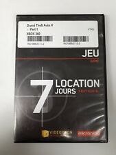 XBOX 360 Video Game: Grand Theft Auto V - Part 1 French Version