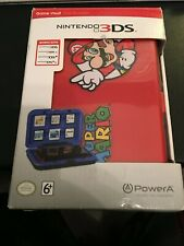 Nintendo Super Mario Red Game Vault COMPATIBLE 3DS-3DSXL-DSi-DSi New Open Box