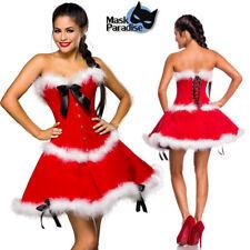 Costume Natale Babbo Mamma Sexy Donna Lingerie Intimo Capodanno Santa Claus