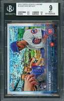 2015 topps update chrome #us283 KRIS BRYANT cubs rookie BGS 9 (8.5 9.5 9.5 10)