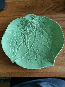 Carlton Ware Foxglove Leaf Platter
