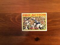 Topps Football Card 1972 No. 251 Pro Action JOHN UNITAS (QB) Baltimore Colts