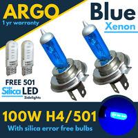 H4 Xenon Blue White Tint 100w Headlight 472 Car Bulbs Hid Led 501 Side Light 12v