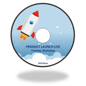 Product Launch LIVE - Over 3 Hours MP4 Video Workshop Training Course on DVD-Rom