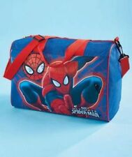 SPIDERMAN LICENSED OVERNIGHT BAG KIDS SLEEPOVER TRAVEL. NEW