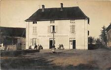 CPA 71 CARTE PHOTO DOMPIERRE LES ORMES HOTEL DES CHAROLLAIS (cliché unique TOP