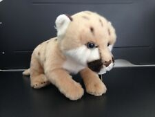 NATIONAL GEOGRAPHIC WILD PUPS PLUSH LION 26CM STUFFED ANIMAL TOY - BNWT