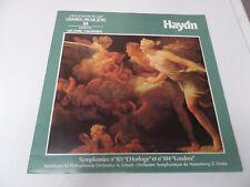 LP (33 tours Hachette) Haydn symphonie n°101 l'horloge 104 Londres Zsolt Deaky