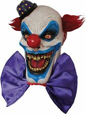 Halloween CHOMPO THE EVIL SCARY CLOWN ADULT LATEX DELUXE MASK COSTUME NEW