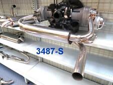STAINLESS STEEL SINGLE TIP GT EXHAUST BEETLE,GHIA,KOMBI TYPE1 ENGINES