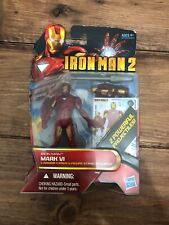 IRON MAN 2 Mark VI (gold accents) 10 Movie Series HASBRO 3.75""