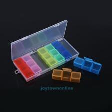 21 Aufbewahrungsdosen Fächerboxen Perlenbox Nail Art Box Sortierbox Pillendosen
