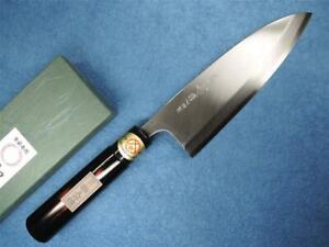 Sakai Yoshiharu Carbon Steel Deba Japanese Knife 165mm Akebono