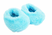 Blue Fuzzy Slippers for American Girl Dolls 18 Inch Dolls Our Generation
