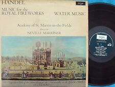 Argo ZRG 697 LP Neville Marriner Academy St-Martin Handel Royal Fireworks EX