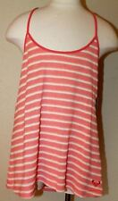 Roxy Tank Top Sweater Knit Women NWT Large Stripe Cotton