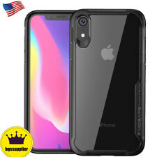 For iPhone XS Max XR X Clear Case Back Shockproof Bumper Protective Slim Cover