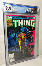 The Thing #2 CGC 9.4 White Pages Byrne Cover! Marvel Comics Original