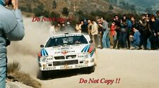 Attilio Bettega MARTINI LANCIA 037 Rally Portogallo RALLY 1984 fotografia 3