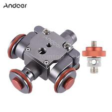 Electric Video Pulley Car Dolly Rolling Slider for Smartphone Nikon DSLR Camera