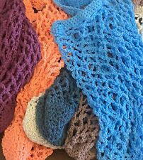 Handcrafted Crochet reusable shopping bags cotton