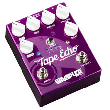 Wampler Faux Tape Echo V2 with Tap Tempo Delay Guitar Effect Pedal Demo