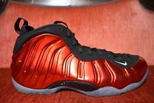WORN 1X 2012 Nike Air Foamposite One Metallic Red Size 11 314996-610 Penny