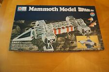 Space 1999 Eagle I Transporter Mammoth Paper Model Crafts By Whiting Incomplete