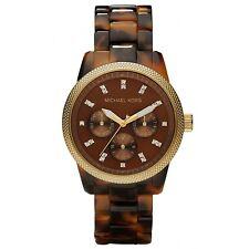 michael kors mk5038 jet set chronograph ritz acryl schildpatt armbanduhr