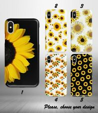 Sunflower Design case for iphone 11 pro max XR X XS SE 2020 8 7 plus 6 5 + SN