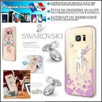 Etui Coque Housse Cristaux Diamonds Kingxbar case Samsung Galaxy S7 / S7 Edge