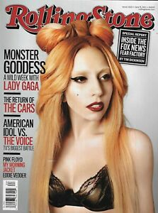 Rolling Stone Magazine Lady Gaga Cars American Idol vs Voice Fox News 2011