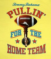 NWT $45 Tommy Bahama SS Pullin for the Home Team Yellow RELAX T Shirt Mens