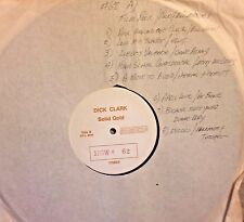 Radio Show: DICK CLARK GOLD #62 ROCK MOVIES! BILL HALEY, ELVIS PRESLEY,PAT BOONE