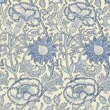 2 Rollos 212567 William Morris Rosa & Rose Papel Pintado Azul
