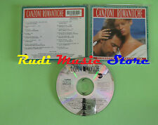 CD CANZONI ROMANTICHE compilation 1992 LITFIBA RUGGERI TOZZI (C16) no mc lp dvd