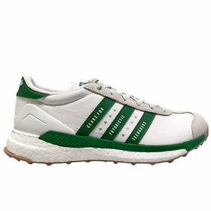 Size 9.5 - 2021 Adidas x Human Made Country Free Hiker White / Green S42973