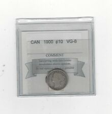 **1900**, Coin Mart  Graded Canadian,  10  Cent, **VG-8**