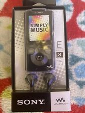 New ListingSony Nwz-E384/B 8Gb Series Walkman Mp3 Player (Black)