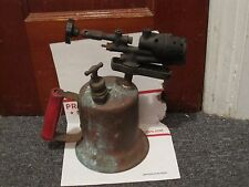 Vintage Antique  Brass Solder Torch Gas Blow Torch