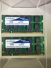 Axiom 4GB 2x2GB PC3 DDR3 - SODIMM Laptop Memory RAM