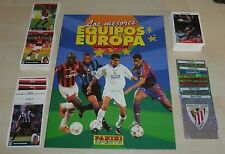 Panini Les mejores equipos de EUROPA 1997/8 LOOSE Sticker Set Vide Album + a-v