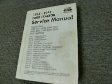 1965-1969 Ford 4500 5500 5550 Tractor Shop Service Repair Manual 1966 1967 1968