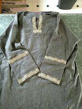 New listing Men's Viking Shirt Costume Reenactment Gray Windlass Xxl