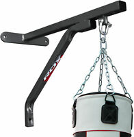 RDX Punching Bag Boxing Wall Bracket Heavy Duty Steel Mount Hanging Stand MMA US