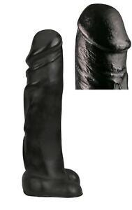 dildo gigante nero con ventosa all black fallo xxl sex toy enorme vaginale anale