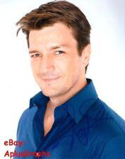 NATHAN FILLION.. Handsome Hunk - SIGNED