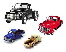 1953 Chevrolet 3100 Pick Up Truck 1:24 Diecast Model Car Welly Red/Blue/Black