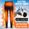 USB Men Women Electric Heated Warm Pants Winter Warmer Heating Trousers Elastic